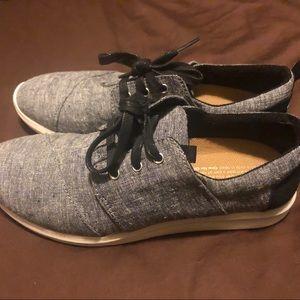 Toms Del Ray Casual Gray Sneaker